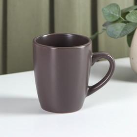 Кружка Доляна «Пастель», 320 мл, цвет серый
