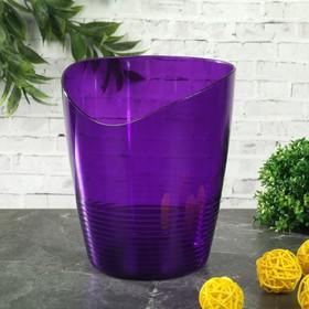 Кашпо для орхидей Mia, 800 мл, цвет баклажановый