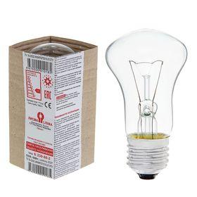 Лампа накаливания Б, Е27, 230 В, 60 Вт