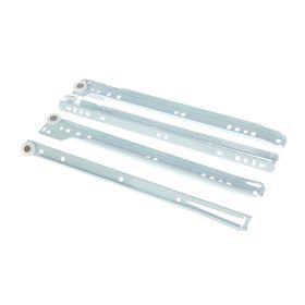 Роликовые направляющие, L=300 мм, до 12 кг, белые, 4 шт. Ош