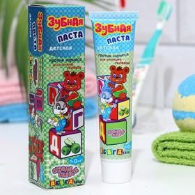 Детская зубная паста против кариеса 'Страна сказок' 'Абвгдейка', 40 г Ош