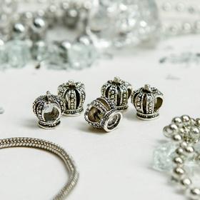Талисман 'Корона', цвет серебро Ош