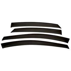 Ветровики дверей Hyundai i40 седан, Classic, полупрозрачные Ош