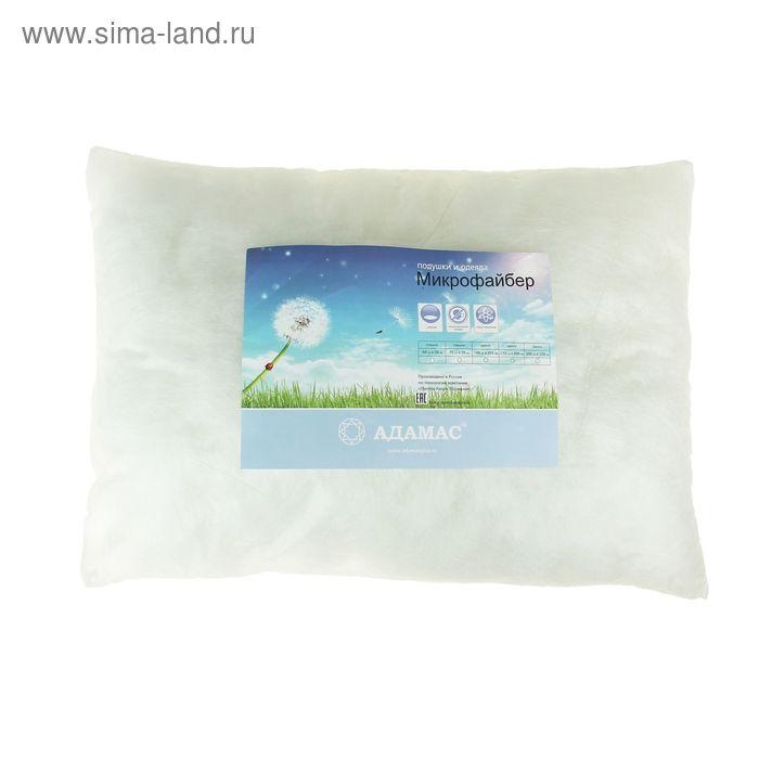 Подушка Адамас синтетическая 50х70 см, микрофайбер чехол спанбонд, п/э