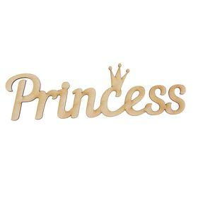 """Деревянная заготовка """"Princess"""""""