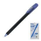 """Ручка гелевая Pentel Energel 417 """"ЭГЕ на 100"""", черный корпус, быстросохнущие чернила, 0.7мм, синий (LR7)"""