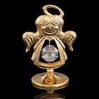 Сувенир «Ангел», с кристаллом Сваровски, 6,5 см - Фото 1