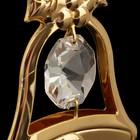 Сувенир «Колокольчик», с кристаллами Сваровски, 6 см - Фото 3