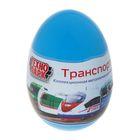 Машинка металлическая в яйце «Городской транспорт», 7,5 см, МИКС