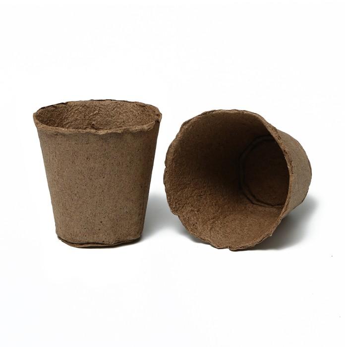 Торфяной горшок, 500 мл, 11 × 11 см, Greengo