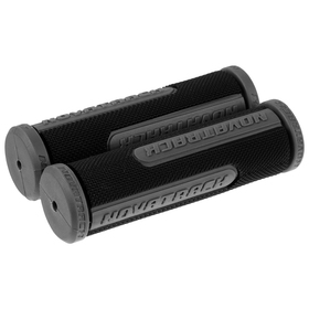 Грипсы Novatrack, 110 мм, цвет чёрный/серый