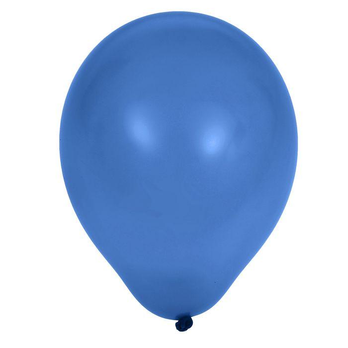 Шар латексный 5, водяные бомбочки, пастель, водяные бомбочки, набор 100 шт., цвет синий