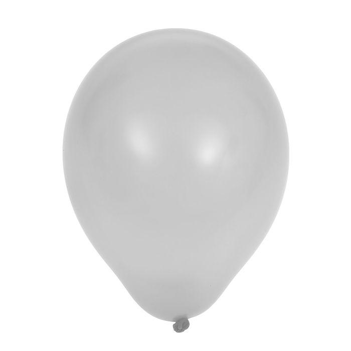 Шар латексный 5, пастель, водяные бомбочки, набор 100 шт., цвет белый