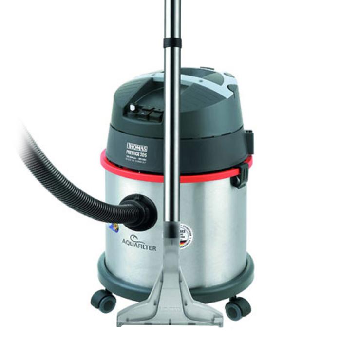 Пылесос Thomas Prestige 20S, 1600 Вт, 20 л, аквафильтр, сбор воды, серебристый