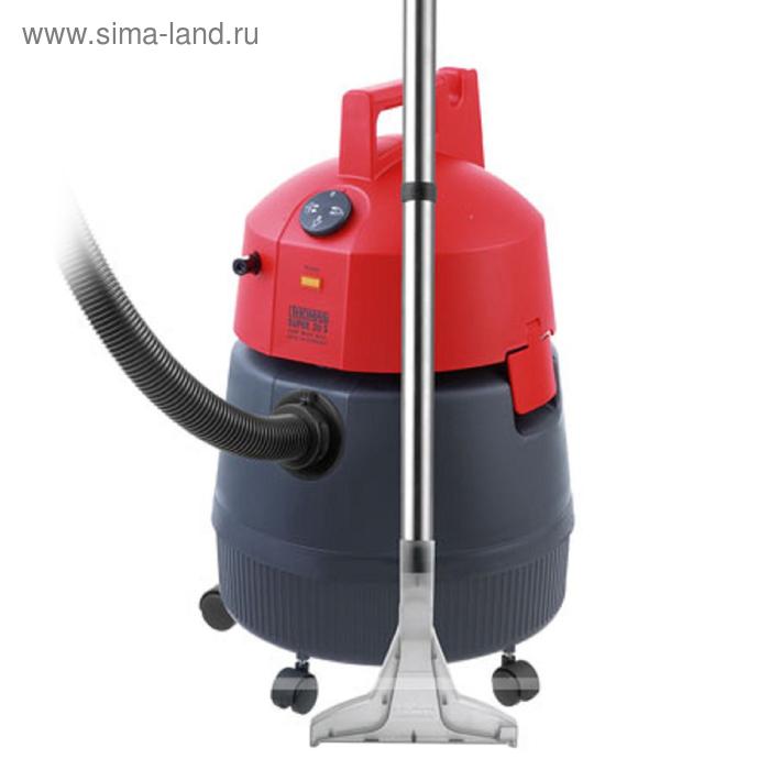 Пылесос Thomas Super 30S, 1400 Вт, 30 л, аквафильтр, сбор воды, красный
