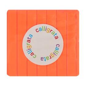 Полимерная глина 50 г, Calligrata SH-64, флюор, персиковый