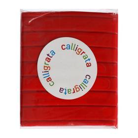 Полимерная глина Calligrata SH-02, 50 г, оранжево-красная Ош