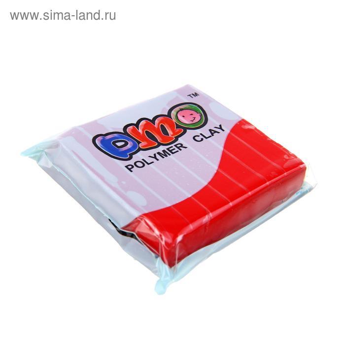 Полимерная глина Calligrata SH-02, 50 г, оранжево-красная
