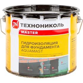 Мастика битумная AquaMast для фундамента, 3 кг Ош