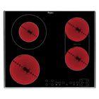 Варочная поверхность Whirlpool AKT 8700/IX, электрическая, 4 конфорки, черный