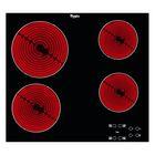 Варочная поверхность Whirlpool AKT 8090/NE, электрическая, 4 конфорки, чёрная