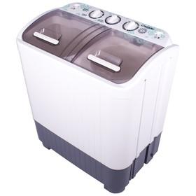 Стиральная машина 'Славда' WS 40 PET, класс А+, 1350 об/мин, 4 кг, белая Ош