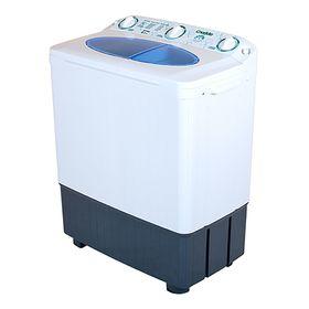 Стиральная машина 'Славда' WS-60 PET, класс А, 1350 об/мин, 6 кг, бело-синяя Ош