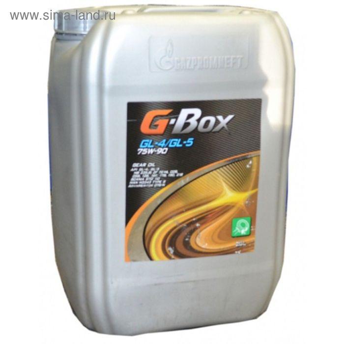 Масло трансмиссионное G-Box GL-4 75W-90, 20 л