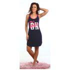 Платье женское «Космо», цвет тёмно-синий, размер 50
