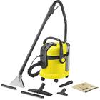 Пылесос Karcher SE 4001, моющий, 1400 Вт, пылесборник 18 л, бак для воды 4/4 л, чёрно-жёлтый