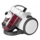 Пылесос Supra VCS-1621, 1600 Вт, мощность всасывания 300 Вт, 2 л, белый/красный
