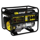 Электрогенератор Huter DY8000L, 6.5/7 кВт, 25 л, 220/12 В, ручной старт