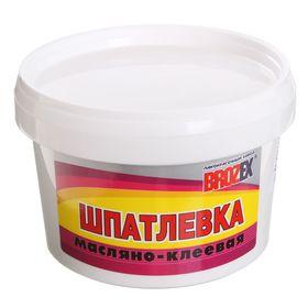 Шпатлёвка масляно-клеевая Brozex, 0,9 кг Ош