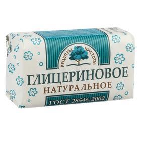 """Туалетное твёрдое мыло """"Глицериновое"""", 180 г"""