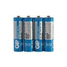 Батарейка солевая GP PowerPlus Heavy Duty, AA, R6-4S, 1.5В, спайка, 4 шт.