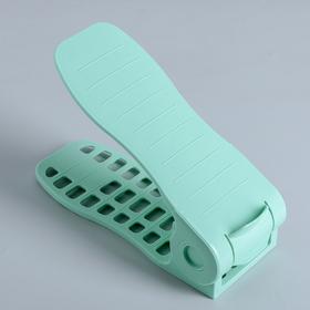 Подставка для обуви, 27×10,5×8 см, цвет МИКС Ош