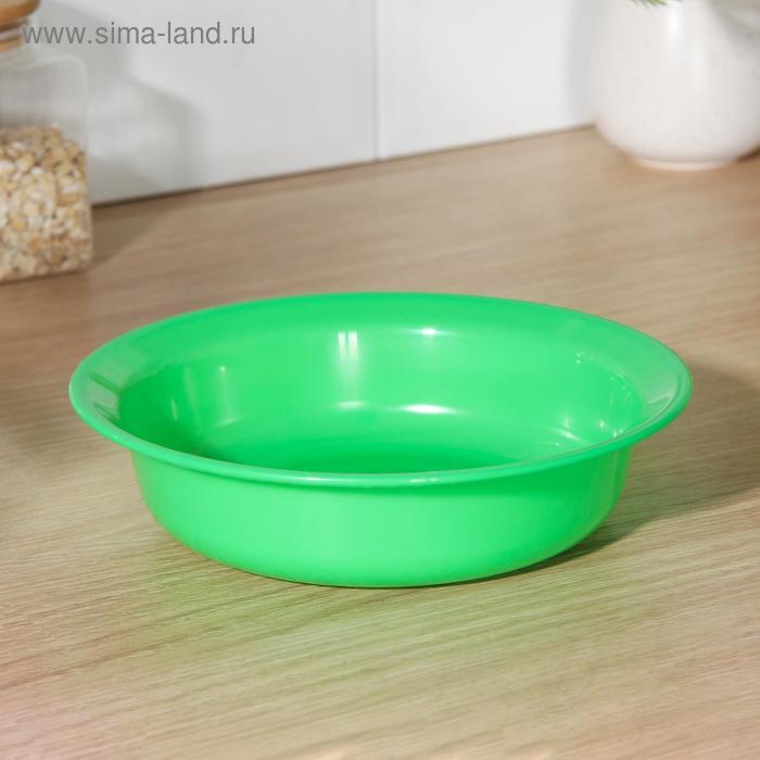 Тарелка 1 л, цвет МИКС