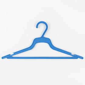 Вешалка-плечики для одежды, размер 48-50, цвет МИКС Ош