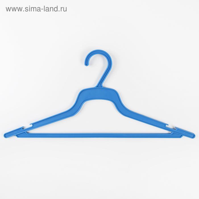 Вешалка-плечики, размер 48-50, цвет МИКС