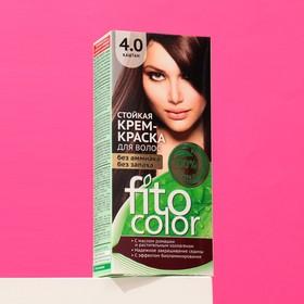 Стойкая крем-краска для волос Fitocolor, тон каштан, 115 мл Ош