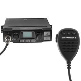 Радиостанция OPTIM-PILGRIM, СВ 26965-27410 кГц, 12 В, 4 Вт, 40 каналов Ош