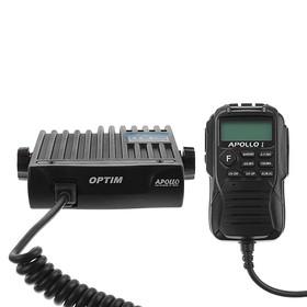 Радиостанция OPTIM-APOLLO, СВ 26965-27410 кГц, 12 В, 4 Вт, 40 каналов Ош