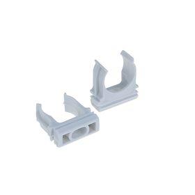 Крепеж-клипса для трубы TDM, d=20 мм, 1 шт Ош