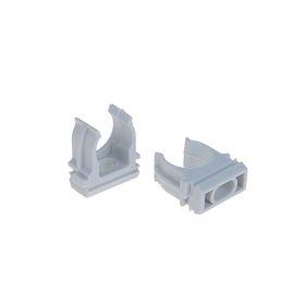 Крепеж-клипса для трубы TDM, d=16 мм, 1 шт