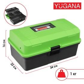 Ящик Helios двухполочный, цвет зеленый Ош