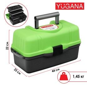 Ящик Helios трехполочный, цвет зеленый Ош