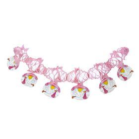 Гирлянда «Доченька», аисты, 200 см, цвет розовый Ош
