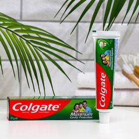 Зубная паста Colgate, максимальная защита от кариеса, двойная мята, 50 мл