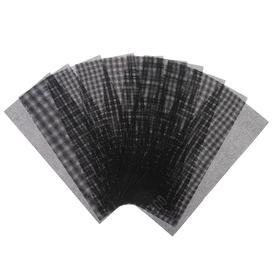 Сетка абразивная TUNDRA, водостойкая, корунд, 115 х 280 мм, Р400, 10 шт. Ош