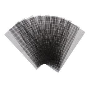 Сетка абразивная TUNDRA, корунд, 115 х 280 мм, Р320, 10 шт. Ош